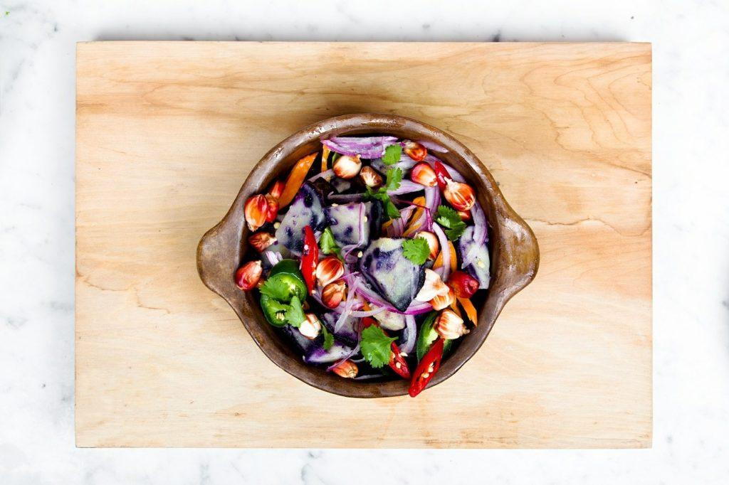 vegane eiweißquellen salat